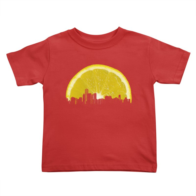 super lemon Kids Toddler T-Shirt by sustici's Artist Shop