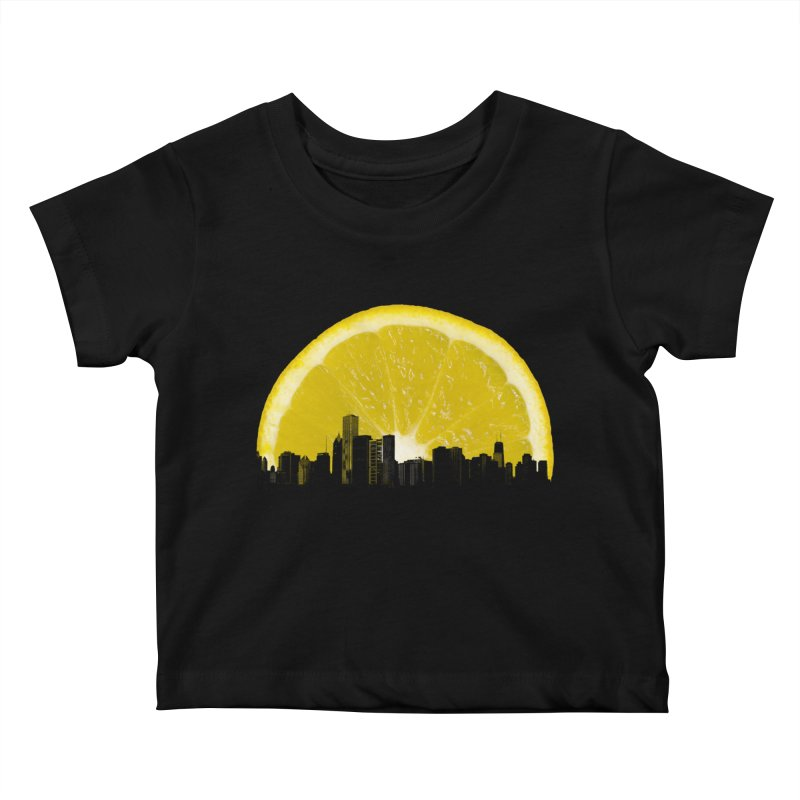 super lemon Kids Baby T-Shirt by sustici's Artist Shop