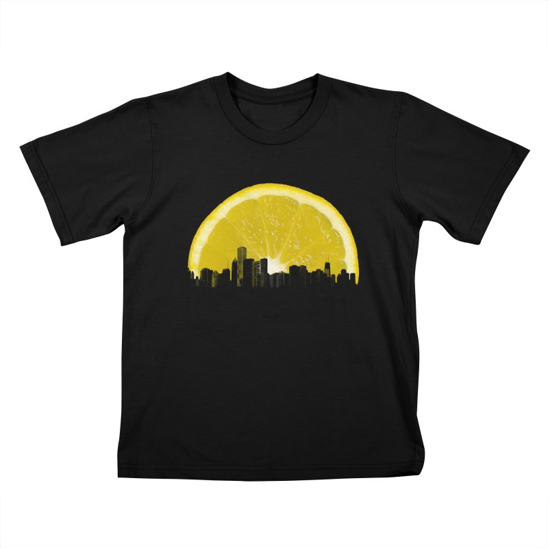 super lemon Kids T-Shirt by sustici's Artist Shop