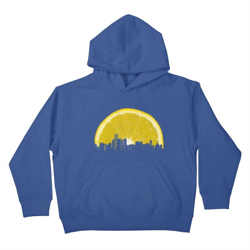 super lemon Kids Pullover Hoody by sustici's Artist Shop