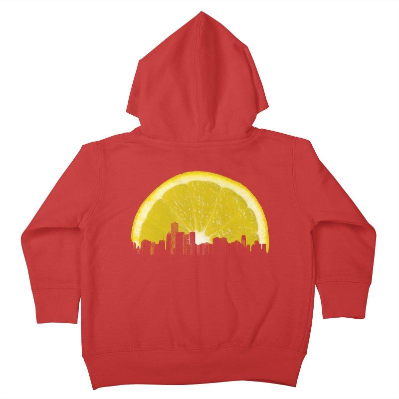 super lemon Kids Toddler Zip-Up Hoody by sustici's Artist Shop