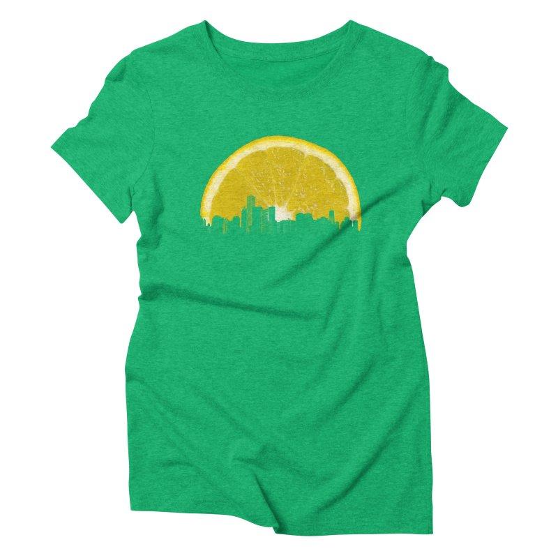 super lemon Women's Triblend T-shirt by sustici's Artist Shop