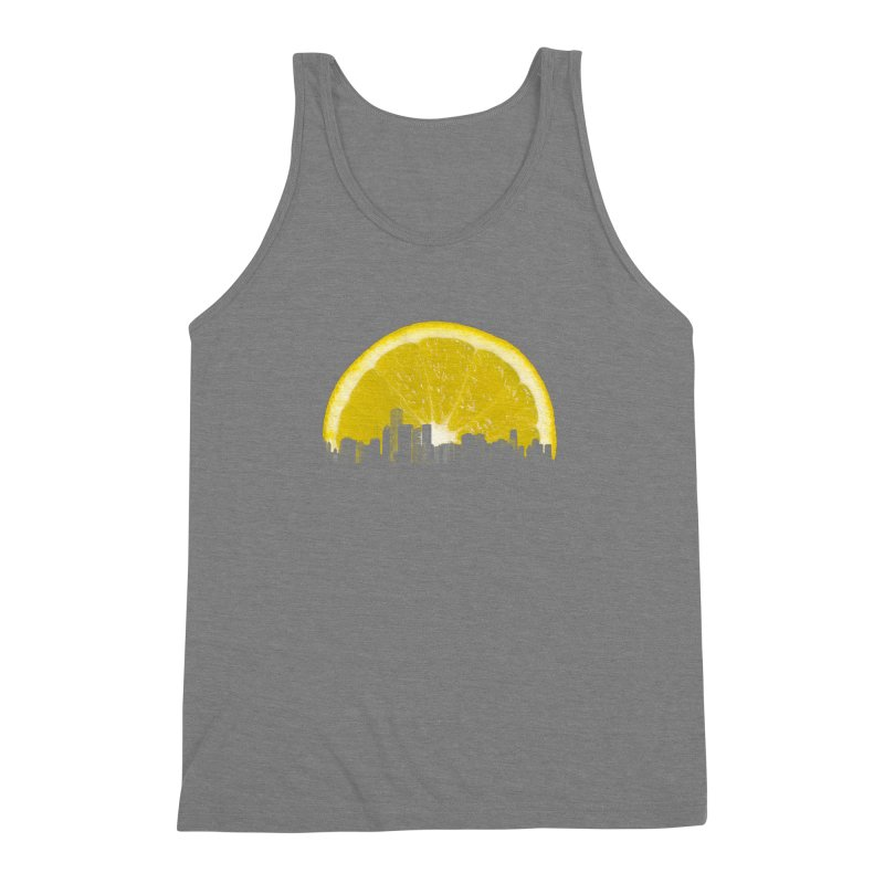 super lemon Men's Triblend Tank by sustici's Artist Shop