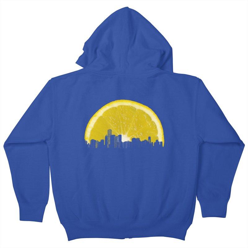 super lemon Kids Zip-Up Hoody by sustici's Artist Shop