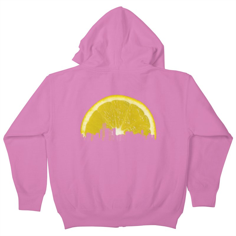 super lemon Kids Zip-Up Hoody by sustici's Artist Shop