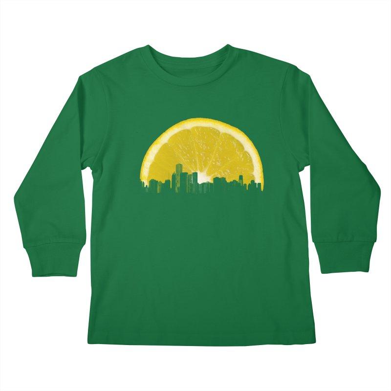 super lemon Kids Longsleeve T-Shirt by sustici's Artist Shop