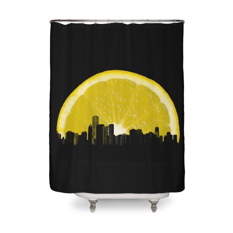 super lemon Home Shower Curtain by sustici's Artist Shop
