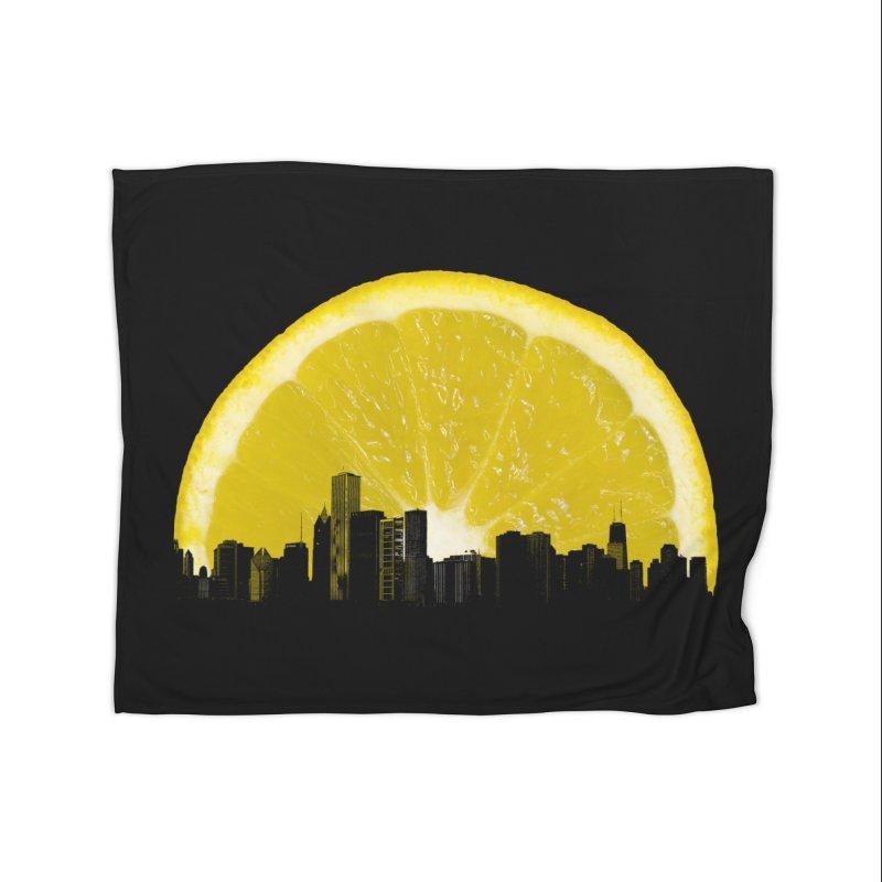 super lemon Home Blanket by sustici's Artist Shop