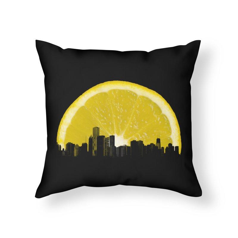 super lemon Home Throw Pillow by sustici's Artist Shop