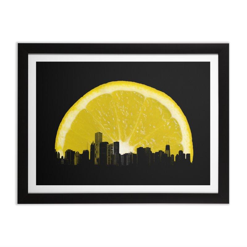 super lemon Home Framed Fine Art Print by sustici's Artist Shop