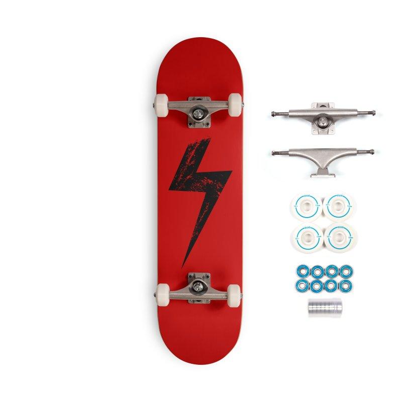 Power Accessories Skateboard by sustici's Artist Shop