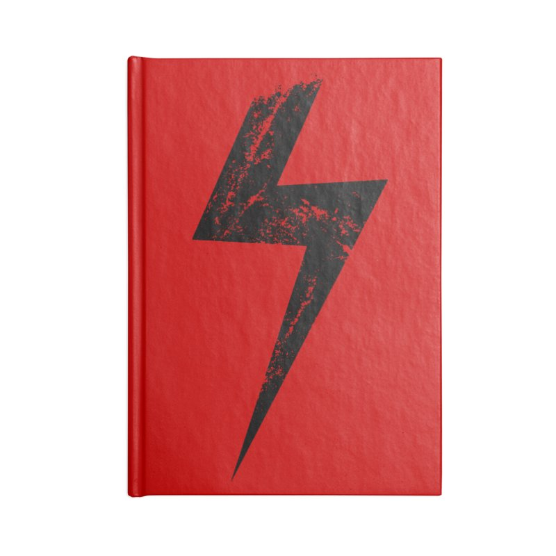 Power Accessories Notebook by sustici's Artist Shop