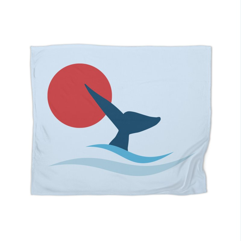 whale Home Blanket by sustici's Artist Shop