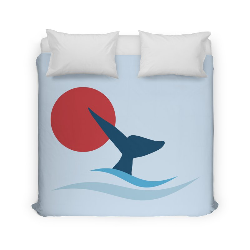 whale Home Duvet by sustici's Artist Shop