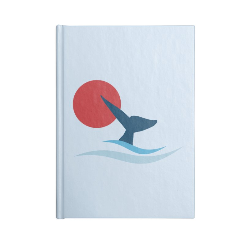 whale Accessories Notebook by sustici's Artist Shop