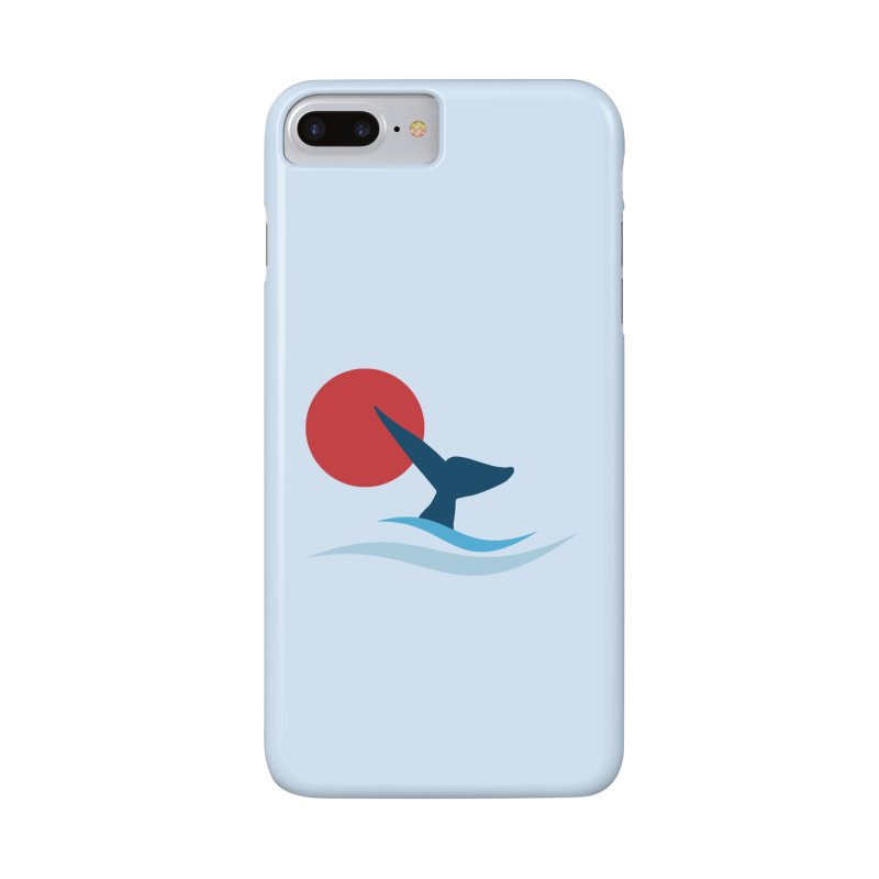 whale Accessories Phone Case by sustici's Artist Shop