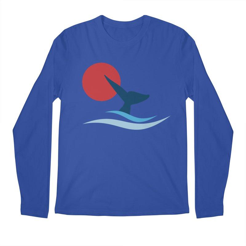 whale Men's Longsleeve T-Shirt by sustici's Artist Shop