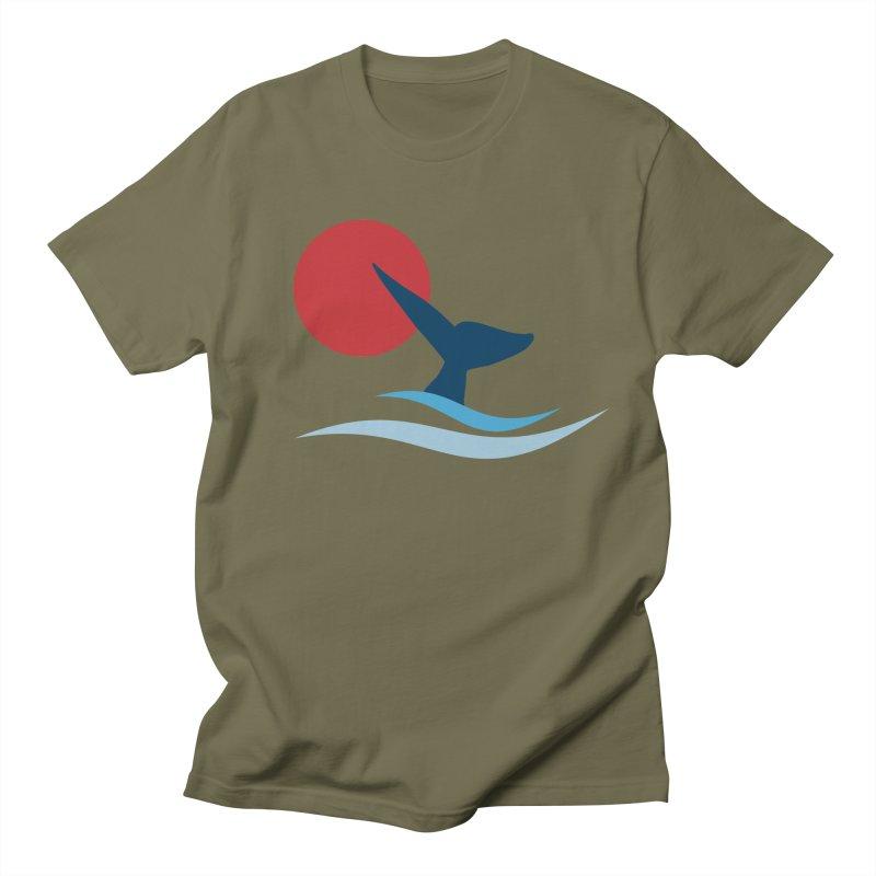 whale Women's Unisex T-Shirt by sustici's Artist Shop