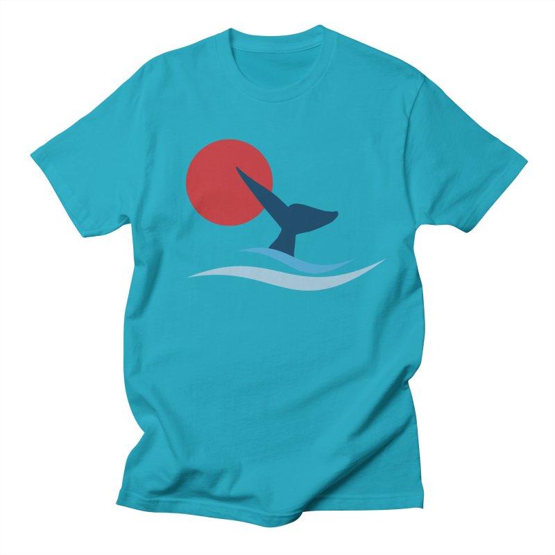 whale Men's T-shirt by sustici's Artist Shop