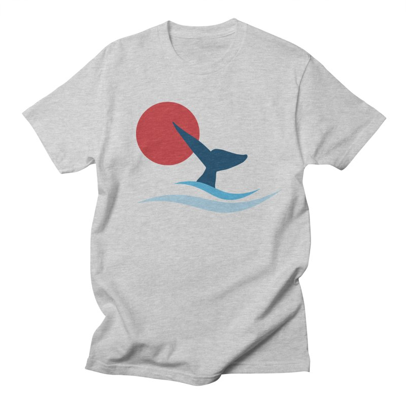 whale Men's T-shirt by sustici's Artist Shop
