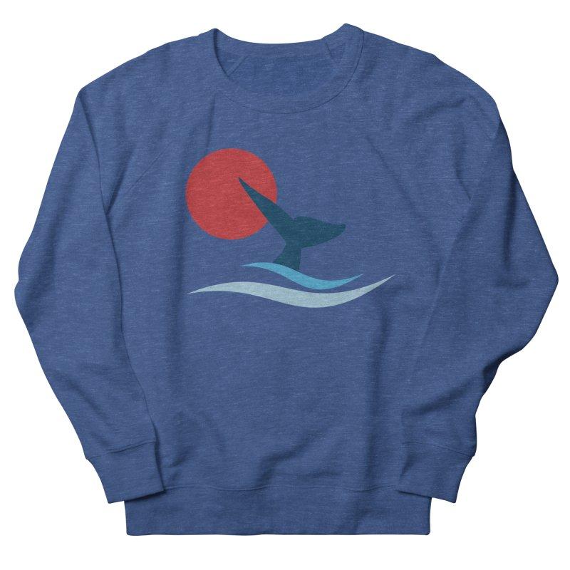 whale Women's Sweatshirt by sustici's Artist Shop