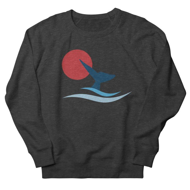 whale Men's Sweatshirt by sustici's Artist Shop