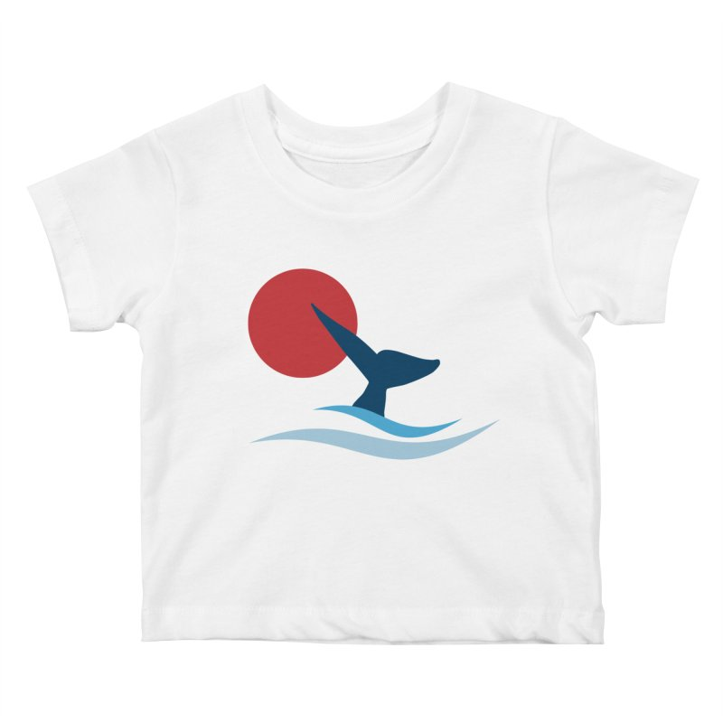 whale Kids Baby T-Shirt by sustici's Artist Shop