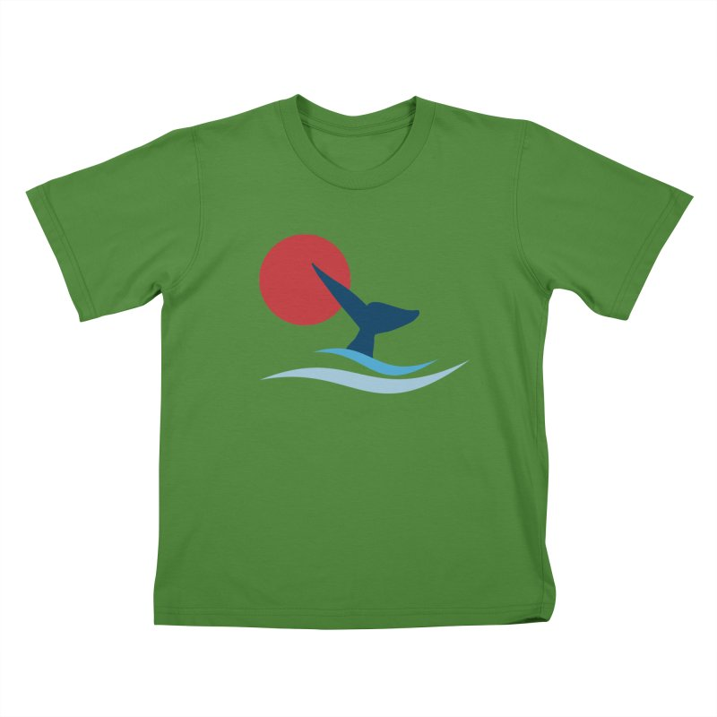 whale Kids T-shirt by sustici's Artist Shop
