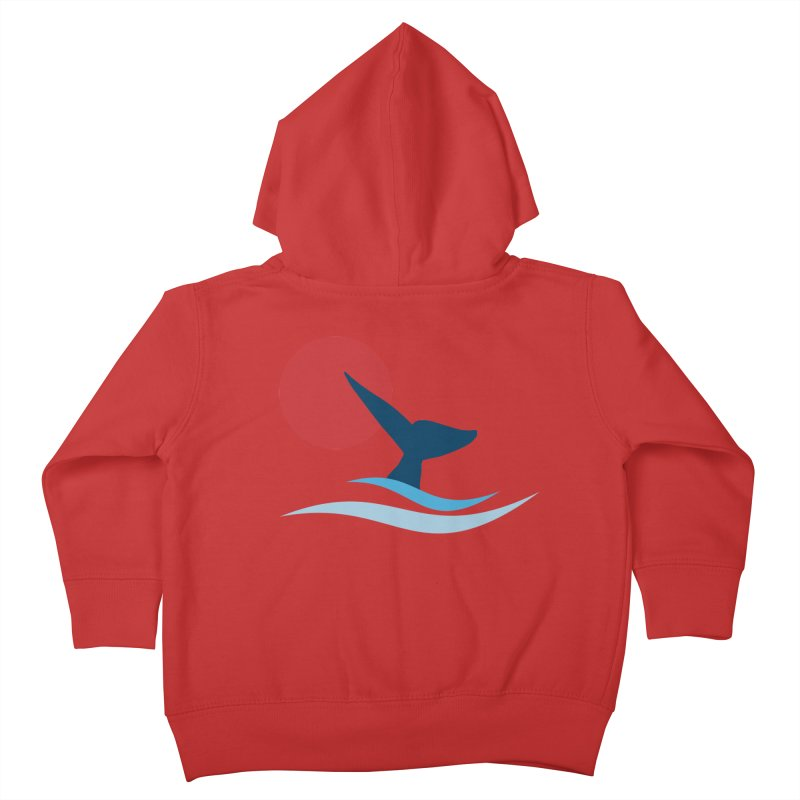 whale Kids Toddler Zip-Up Hoody by sustici's Artist Shop