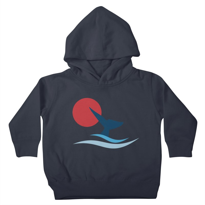 whale Kids Toddler Pullover Hoody by sustici's Artist Shop
