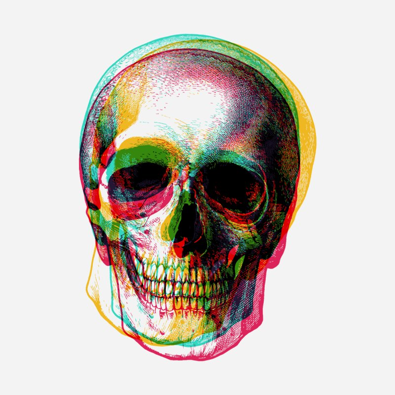 Colorfskull Home Rug by sustici's Artist Shop