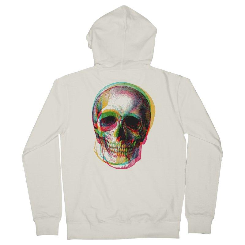 Colorfskull Men's Zip-Up Hoody by sustici's Artist Shop