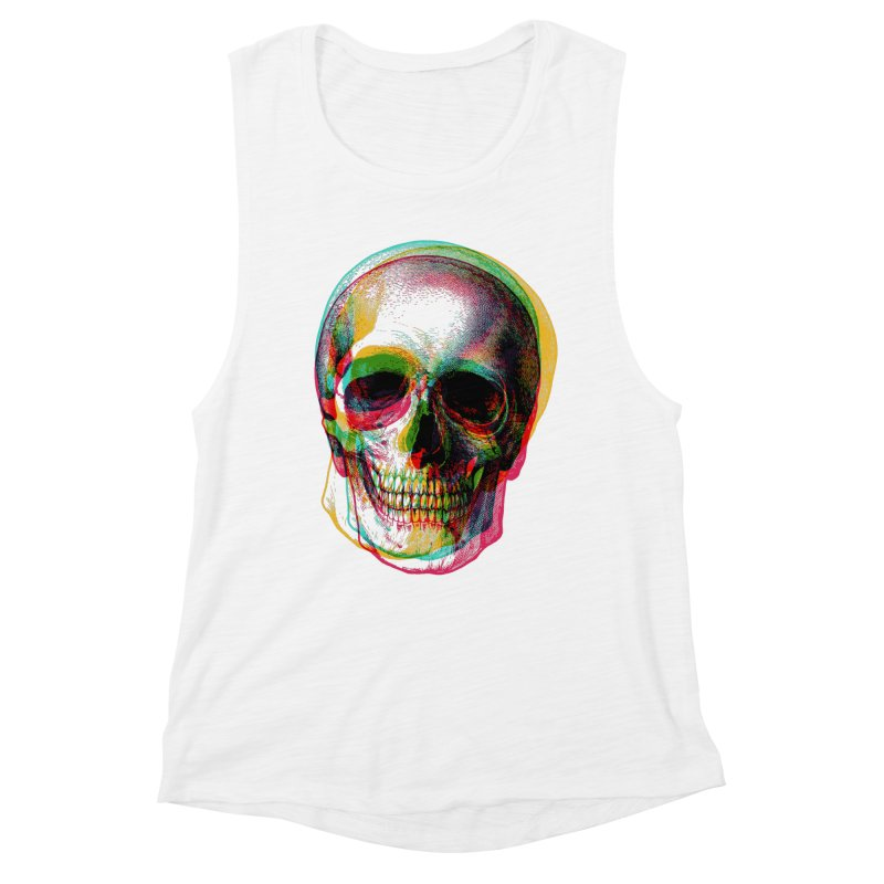 Colorfskull Women's Tank by sustici's Artist Shop
