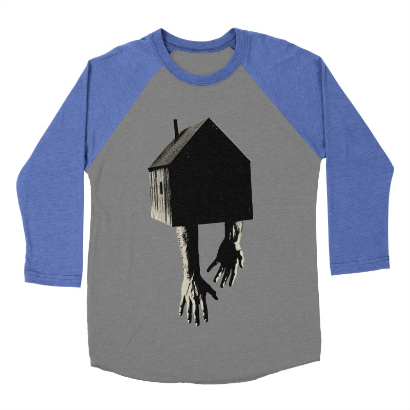 Roots Men's Baseball Triblend T-Shirt by sustici's Artist Shop