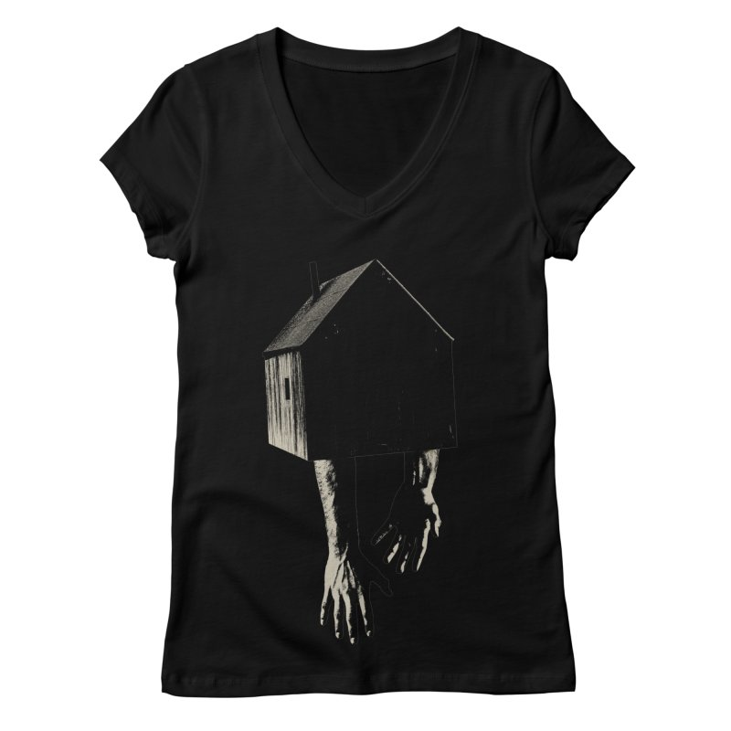 Roots Women's V-Neck by sustici's Artist Shop