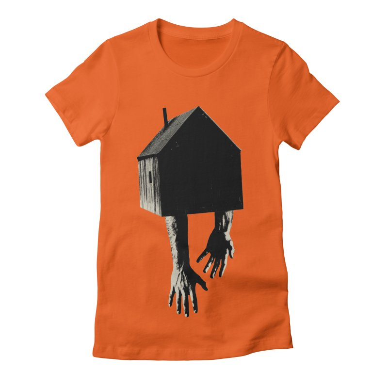 Roots Women's Fitted T-Shirt by sustici's Artist Shop