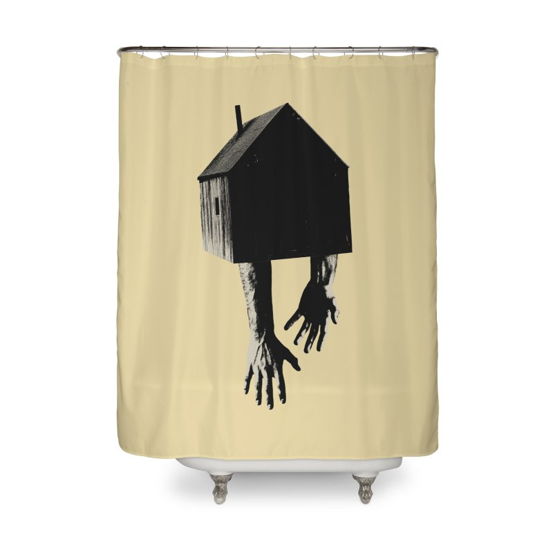 Roots Home Shower Curtain by sustici's Artist Shop
