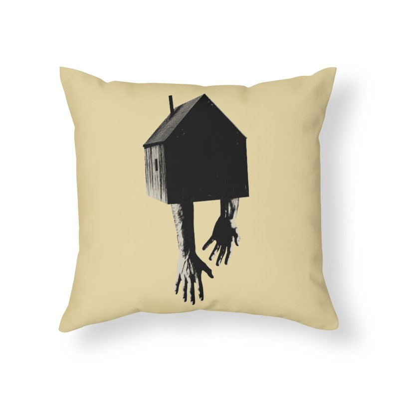 Roots Home Throw Pillow by sustici's Artist Shop