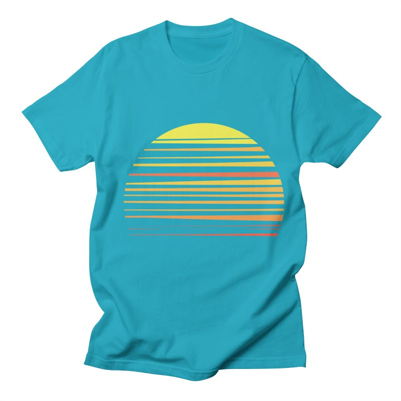 all summer long Men's T-shirt by sustici's Artist Shop