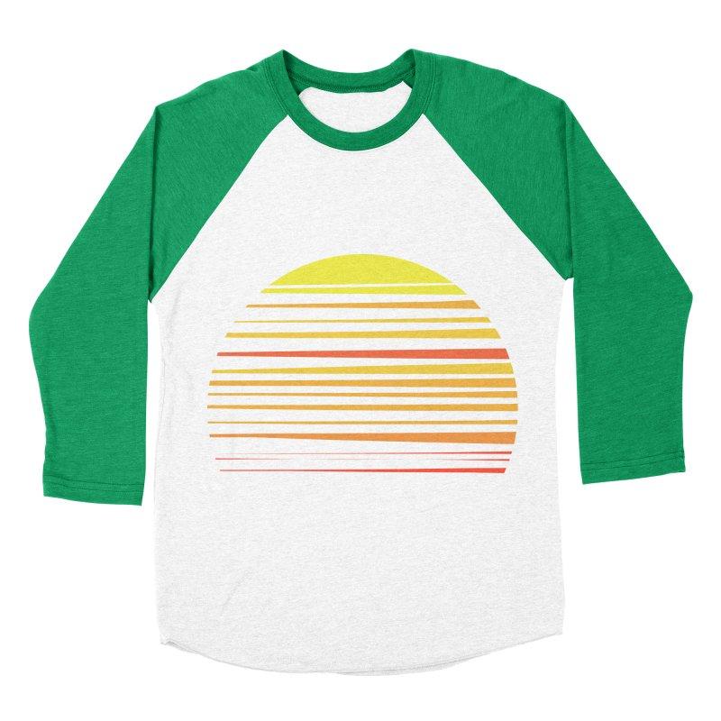 all summer long Men's Baseball Triblend T-Shirt by sustici's Artist Shop