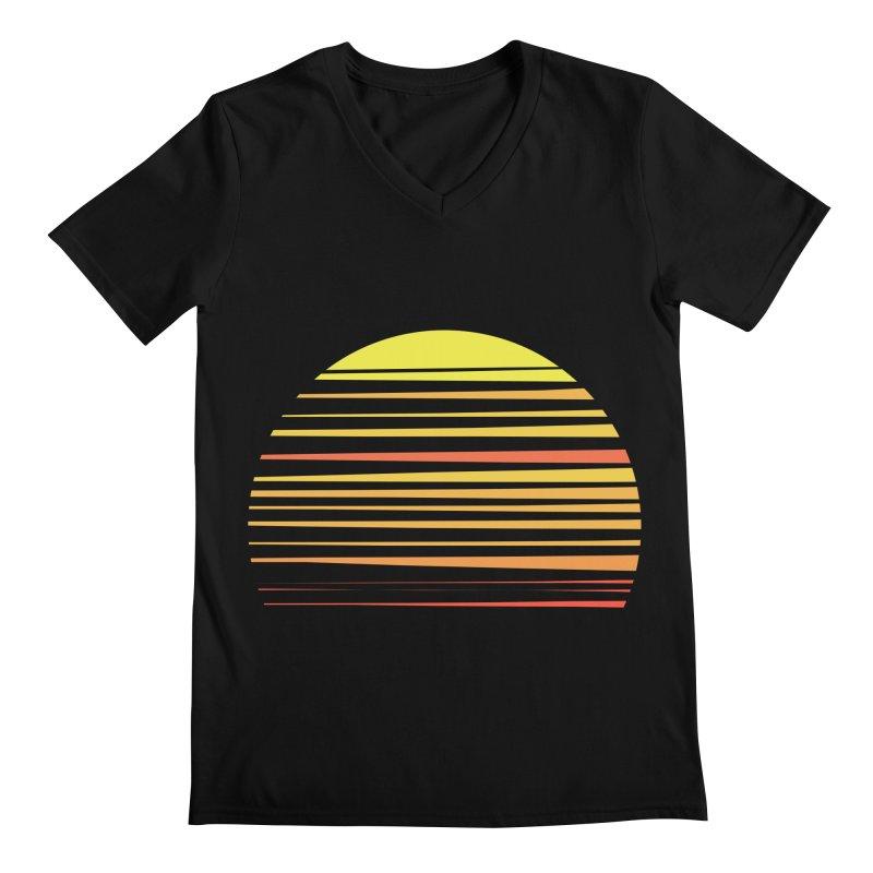 all summer long Men's V-Neck by sustici's Artist Shop