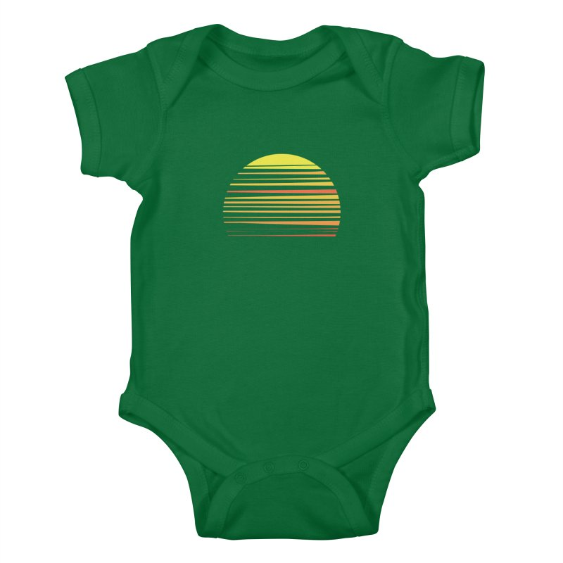 all summer long Kids Baby Bodysuit by sustici's Artist Shop