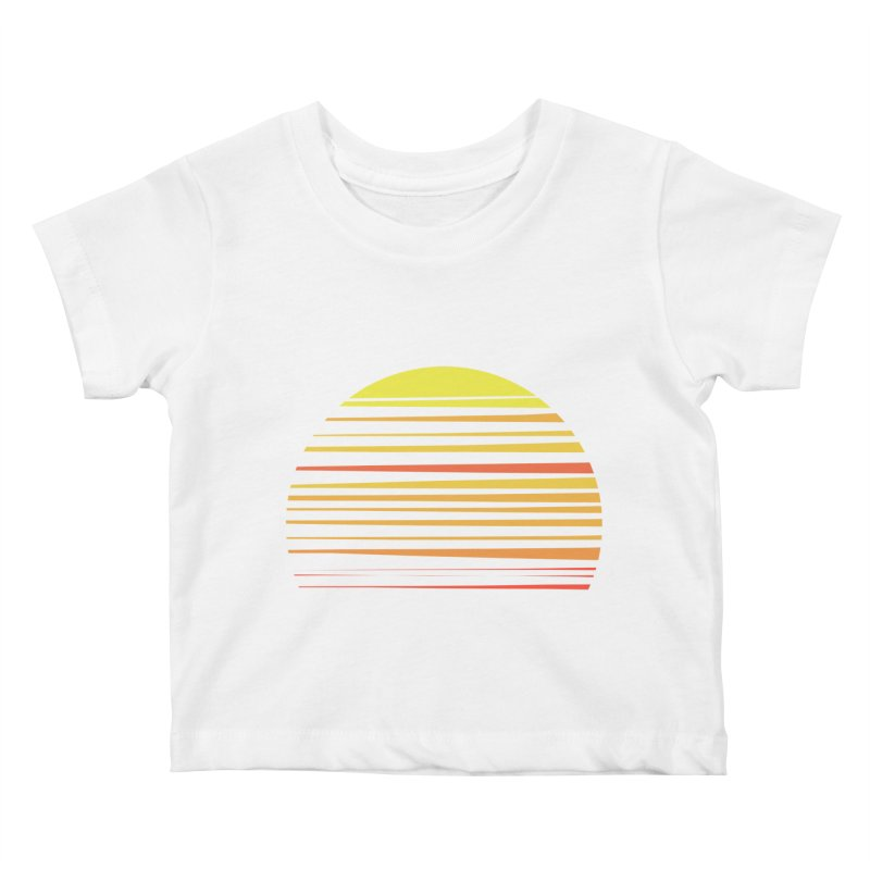 all summer long Kids Baby T-Shirt by sustici's Artist Shop