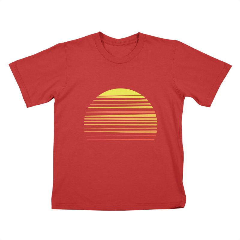 all summer long Kids T-shirt by sustici's Artist Shop