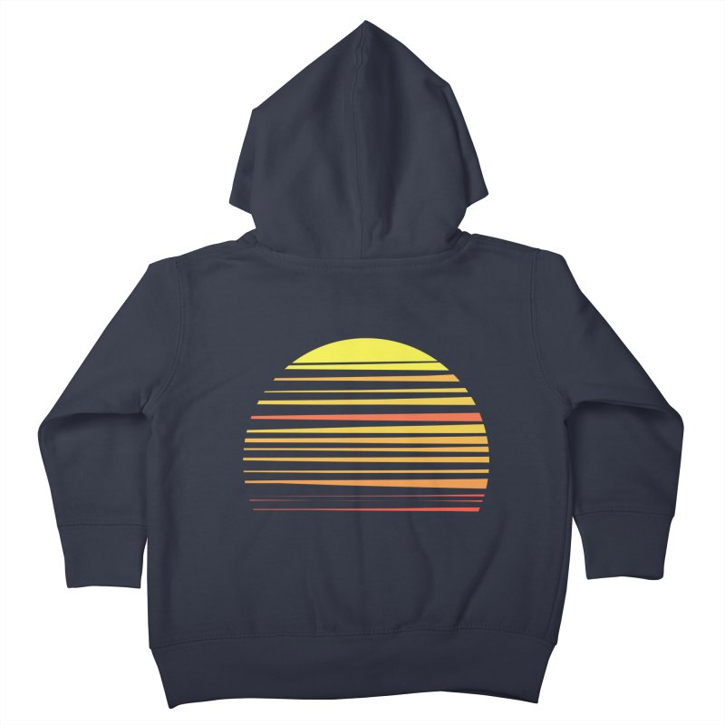 all summer long Kids Toddler Zip-Up Hoody by sustici's Artist Shop