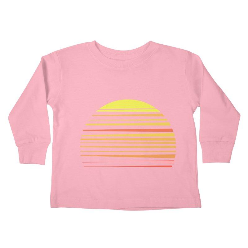 all summer long Kids Toddler Longsleeve T-Shirt by sustici's Artist Shop