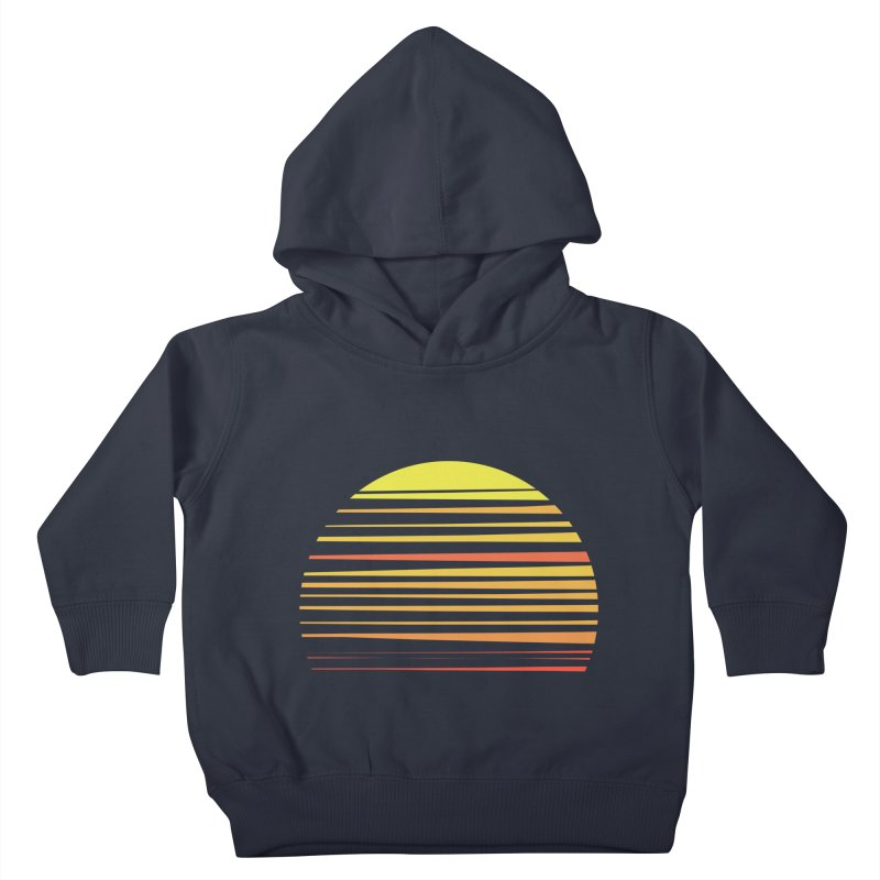 all summer long Kids Toddler Pullover Hoody by sustici's Artist Shop