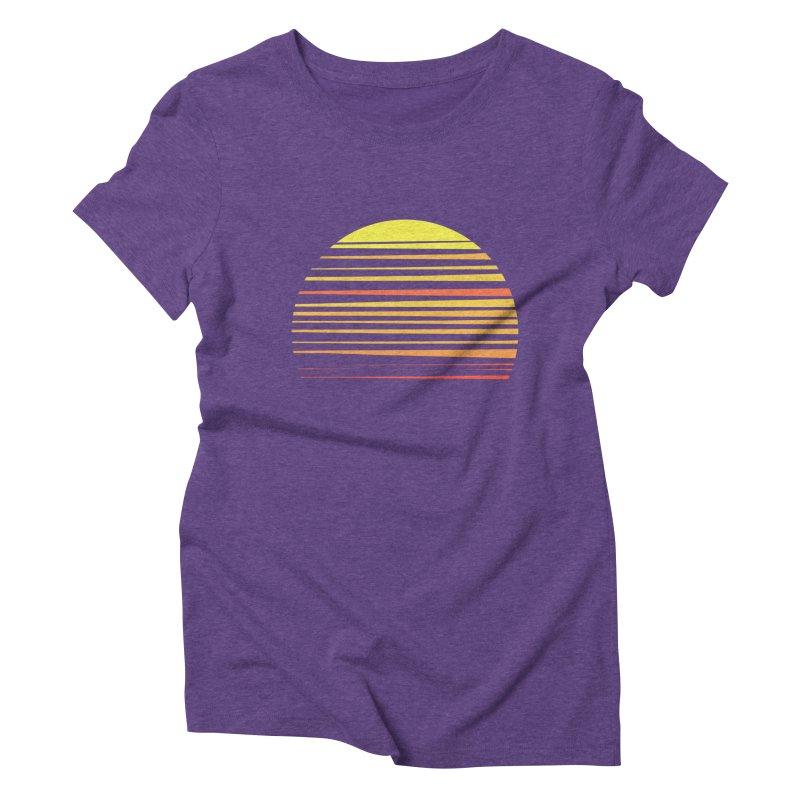 all summer long Women's Triblend T-shirt by sustici's Artist Shop