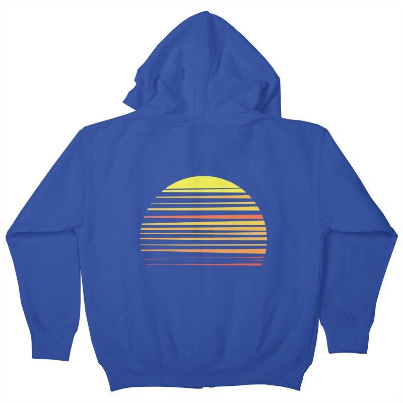 all summer long Kids Zip-Up Hoody by sustici's Artist Shop