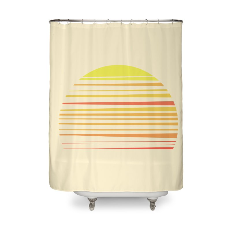 all summer long Home Shower Curtain by sustici's Artist Shop